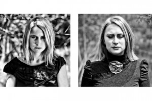 """""""Pod powierzchnią""""; modelka: Ewelina Walczak;make-up i stylizacja: moje;asystowała: Natalia Skrzynecka"""
