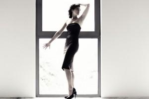 """""""Marion""""; modelka: Małgorzata Korpysz; make-up i stylizacja: moje; asystowała: Natalia Skrzynecka"""