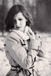 """""""New light of tomorrow""""; modelka: Urszula Makosz; make-up i stylizacja: moje; asystowała: Grażyna P."""