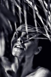 """""""Amazonia""""; modelka: Emilia Klimczak; stylizacja: moje"""
