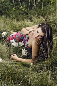 """Latem""; modelka: Dagmara Olejniczak; make-up: Dagmara Bednarska-Brzostowska"