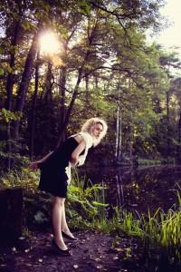 """""""Haiku Miłosne""""; modelka: Ewelina Walczak; make-up i stylizacja: moje;"""