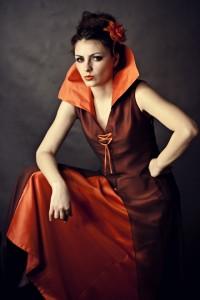 """Queen of Hearts"": modelka: Emilia Klimczak; make-up i kostium: moje"