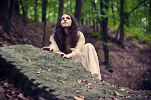 """""""Bruxa""""; modelka: Emilia Klimczak; make-up i stylizacja: moje"""