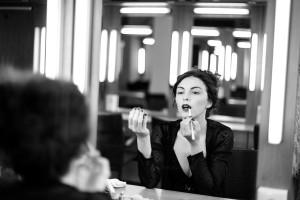 """""""Behind the Scenes""""; modelka: Emilia Klimczak"""